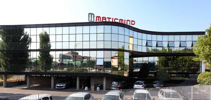 Sede dell'azienda leader del settore ICT Maticmind
